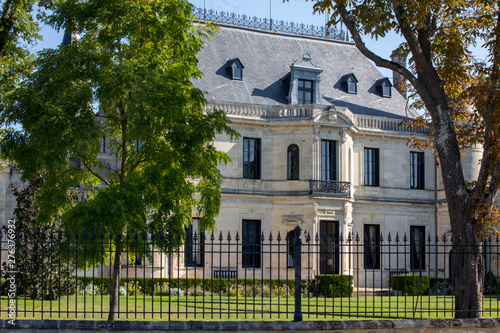 Photo Chateau Palmer is a winery in the Margaux appellation d'origine contrôlée of the