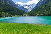Amazing Alpine Landscape With ...