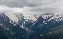 Dombay Mountain Range In The C...