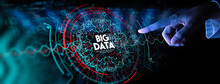 Big Data In HUD And Icon Ui Wi...