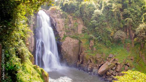 Fototapeta Heaw Na Rok waterfall is located in Khao Yai National Park. beautiful waterfall in the jungle,Thailand. obraz