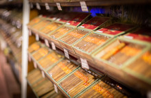 Mexican Cigars In A Shop