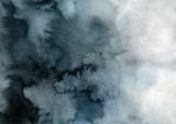 indygo i czarne tło gradientowe akwarela - 276416904