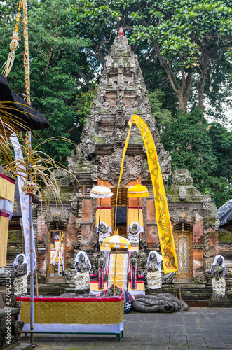 Hindu temple in Sacred Monkey Forest
