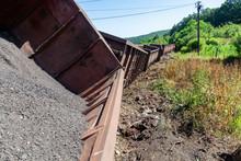 Freight Train Derailment 3