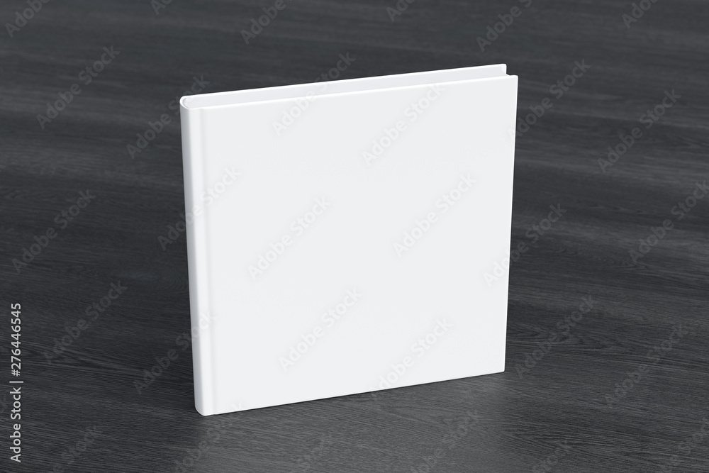 Fototapety, obrazy: Blank square book cover mock up