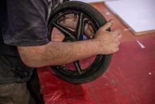 Master Repairs The Wheel. Whee...