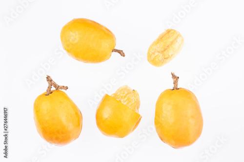Spondias purpurea - plum, jobo, xocote, plum of huesito