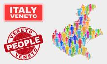 Demographic Veneto Region Map ...