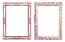 Set 2 - Antique Pink Frame Iso...