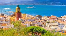 Ville De Saint-Tropez, Côte D'Azur, France