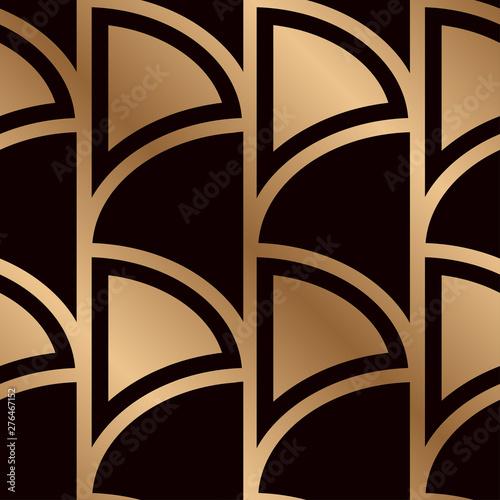 Magnificent Art Deco Pattern Seamless Golden Background Minimalistic Download Free Architecture Designs Grimeyleaguecom
