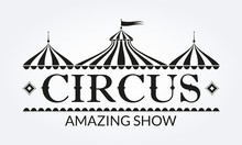 Circus Logo, Badge Or Label Wi...