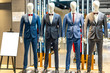 suit in shopping mall
