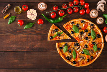 Pizza (mushrooms, Olives, Chic...