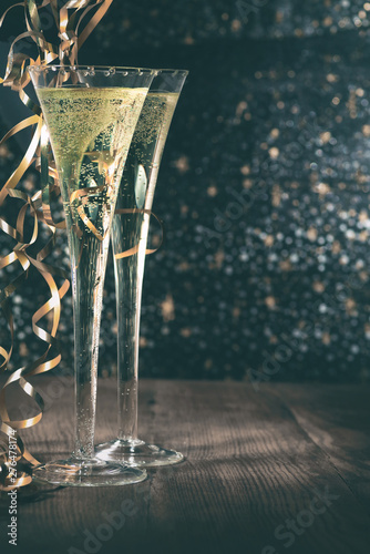 Happy New Year 2020. Symbol from number 2020 on wooden background Fototapete