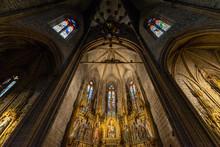Gothic Altarpiece Of The Churc...