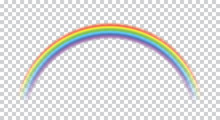 Rainbow Icon Realistic. Perfec...