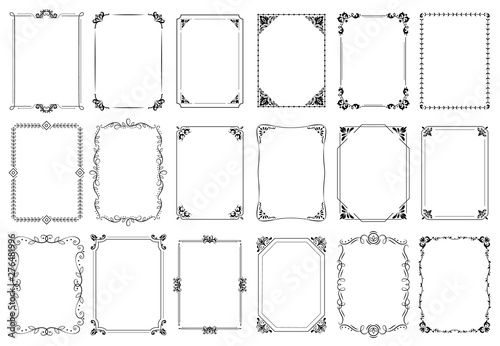 Photo Decorative frames