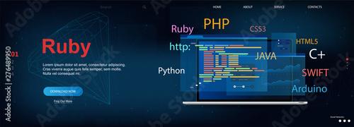 Fotografía Ruby programming language