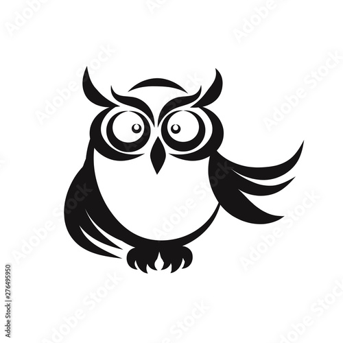 Photo Stands Owls cartoon Owl