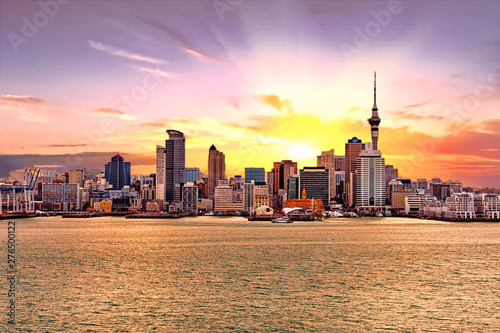 Auckland skyline Wallpaper Mural