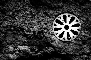 Una ruota nel muro