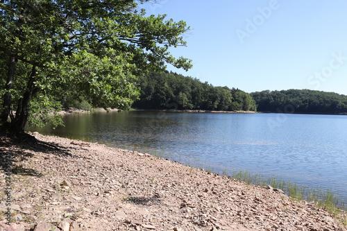 Fotografia Plage du lac de Chaumeçon en Bourgogne