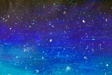 Beautiful Starry Night Sky Bac...