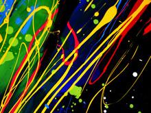 Colorful Oil Paint Multi Color...