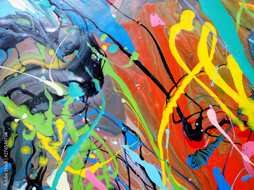 Recess Fitting Graffiti colorful oil paint multi colors abstract background.