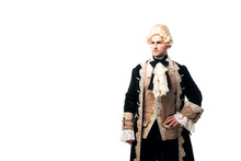 Handsome Victorian Man In Wig ...