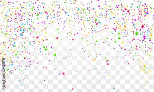 Fototapeta Festive colorful star obraz na płótnie
