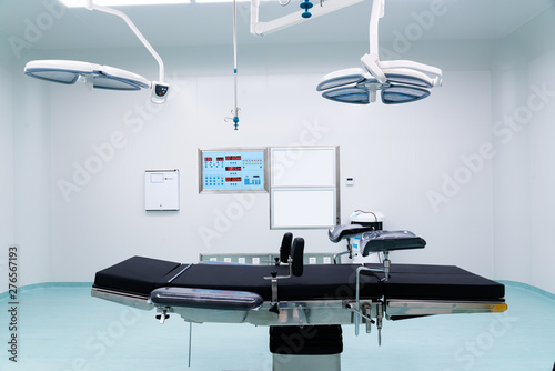 Stampa su Tela Interior of operating room in modern clinic