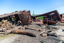 Cargo Damaged In Freight Train Derailment