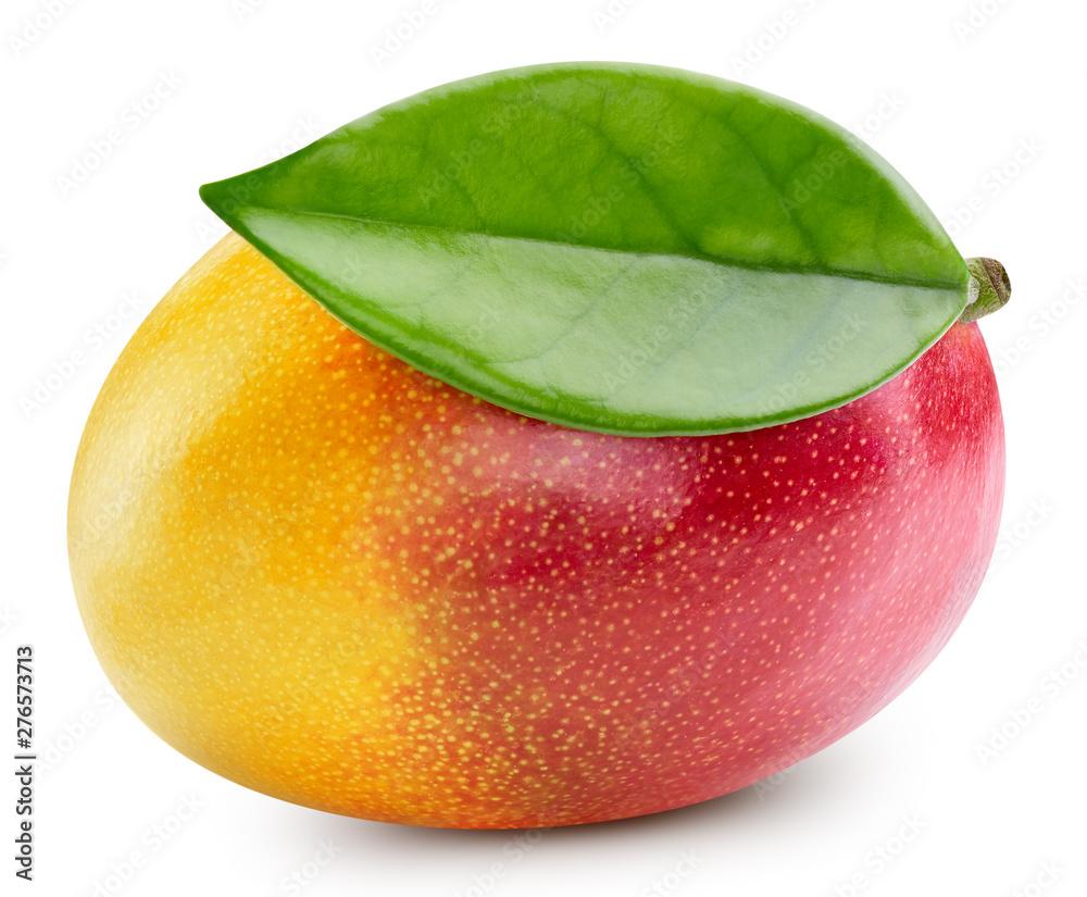 Fototapety, obrazy: Mango isolated on white