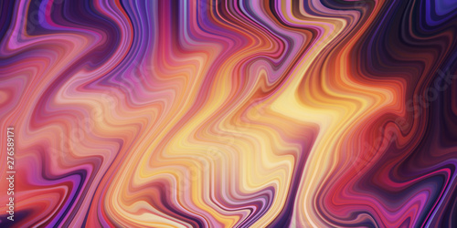 Modern abstract color background. Liquid flow style. Creative gradient texture for you design.  - 276589171