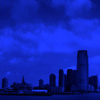 canvas print picture - New Jersey skylines