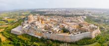 Panorama Of The Town Of Mdina ...