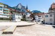 Hauptplatz von Schwyz, Kantonshauptstadt, Schweiz