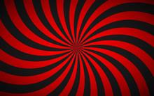 Decorative Retro Red Spiral Ba...
