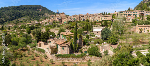 Valldemossa, rural town in an idyllic valley in the midst of the Tramuntana mountains of west Mallorca. Baelaric islands, Spain