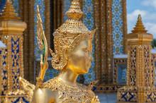 Statue Of A Kinnara In The Tem...