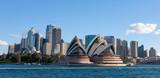 Sydney w Australii. Opera i panoramę.