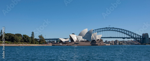 Poster Sydney Sydney Australia.Bridge and Opera House