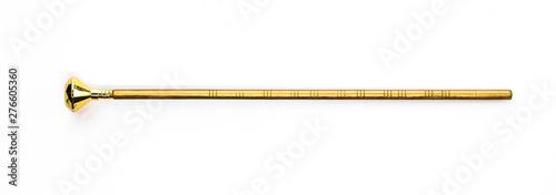 Fotografia  golden magic wand, magic staff