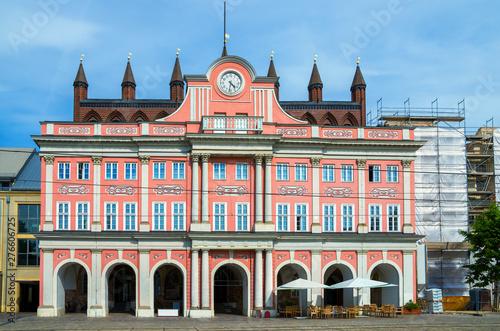 Fotografía City Hall. Rostock, Germany