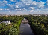 Fototapeta Miasto - Warszawa - Pałac na wodzie w Łazienkach Królewskich