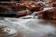 Waterfall, Hunters Canyon, Utah