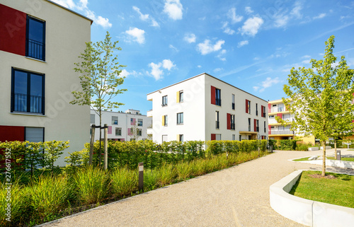 Fotografia Residential area in the city, modern apartment buildings